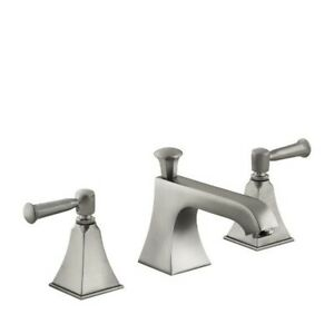 Kohler 454-4S-BN Memoirs Widespread Lavatory Faucet With Stately