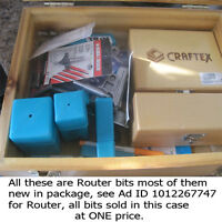 Router Bits new & used
