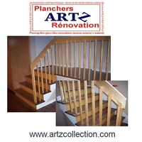 Escaliers – staircases   - Marches -contremarches - faux limons