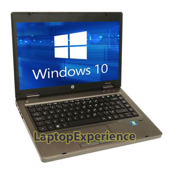 "HP LAPTOP COMPUTER PROBOOK WINDOWS 10 WIN 14"" 2.1GHz 4GB 320GB NOTEBOOK PC WiFi"