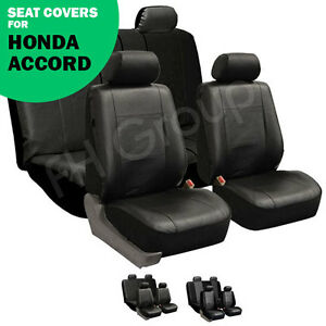 honda accord car seat covers ebay. Black Bedroom Furniture Sets. Home Design Ideas