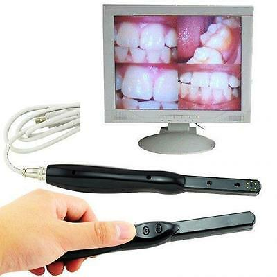 Metal Connector Dental Hd Usb 2.0 Intra Oral Camera 6mega Pixels 6-led Black