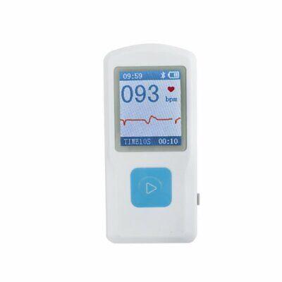 Portable Handheld Single Channel Ecgekg Electrocardiogra Machine Cecertified