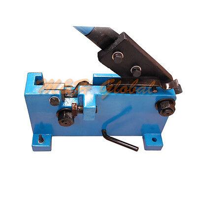 Manual Hand Shear Rebar 20 Mm 0.78 Flat Square Rod Steel Metal Cutter