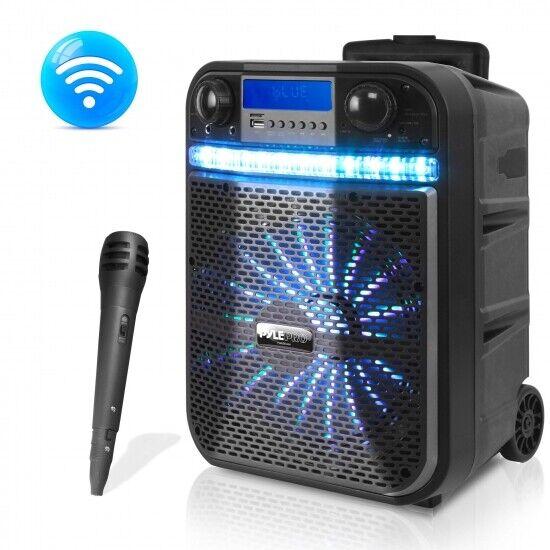 Wireless Portable PA Speaker System - 300W Bluetooth Compati