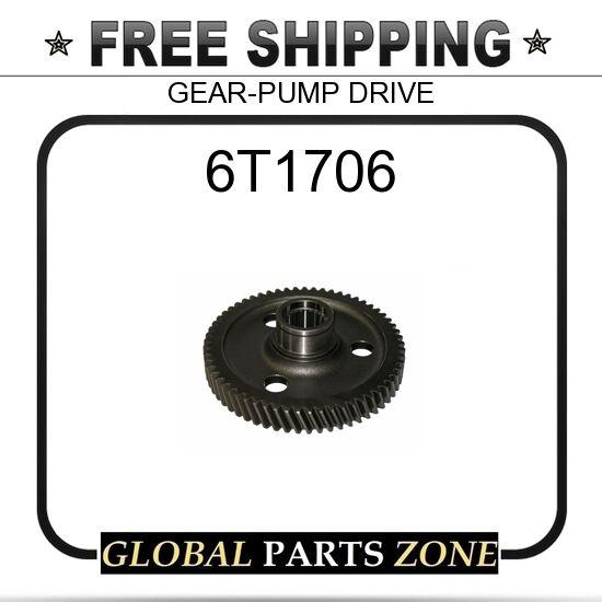 6T1706 - GEAR-PUMP DRIVE 8P4644 for Caterpillar (CAT)