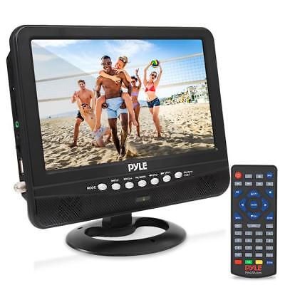 """9"""" Portable TV Tuner Monitor Display Screen with Built-in Rechargeable Battery"""