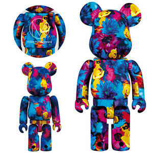 Medicom-Mika-Ninagawa-Anemone-100-and-400-Bearbrick-Be-rbrick-Figure-2pcs-set