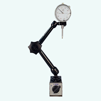 All Industrial 52000 0-1 Dial Indicator Noga Mg10533 Magnetic Base