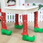 New Christmas Decorations Home Restaurant Chair Foot Cove...