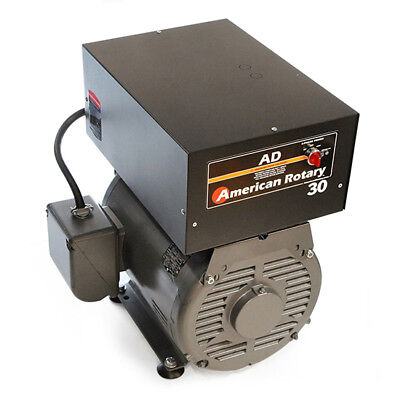 American Rotary Ad30fm Floor Mount Ad Series 30hp Rotary Phase Converter 240v