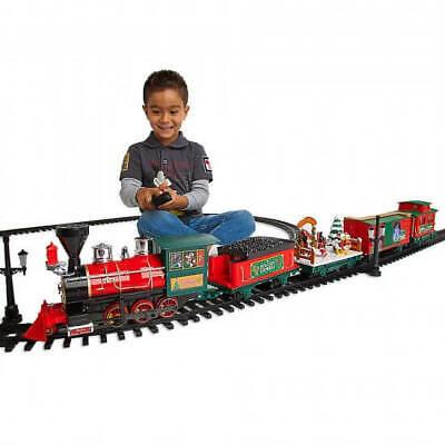 DISNEY PARKS Christmas Train 30 Piece Set w/Remote-Yuletide Farmhouse Collection