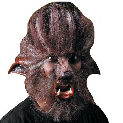 Wolfman Make Up (Wolfman Werewolf Wolf Man Animal Brown Halloween Costume Makeup Latex Prosthetic)