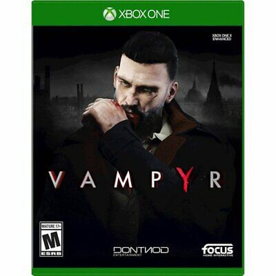 Vampyr (Microsoft Xbox One XB1) Brand New Factory Sealed