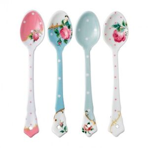 ROYAL ALBERT OLD COUNTRY ROSES  CERAMIC SPOONS