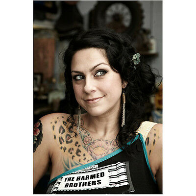 Danielle Colby Cushing American Pickers  The Harmed Brothers  8 X 10 Inch Photo