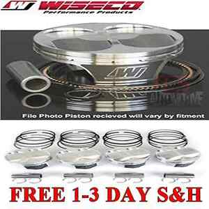 Wiseco Turbo Pistons Honda Acura GSR LS B16A B18C1 B18A/B 81.5 mm 8.9:1-10.2:1