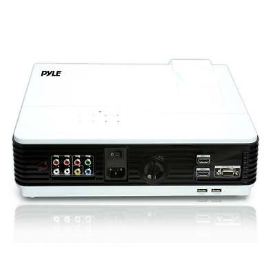 Pyle Prjd903 Pyle Digital Multimedia Projector, Full Hd 1080p Support Mac & Pc
