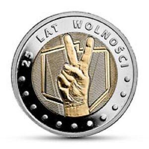 Polen - 5zl Entdecken Sie Polen - 25 Jahre Freiheit - <span itemprop=availableAtOrFrom>Elk, Polska</span> - Zwroty są przyjmowane - Elk, Polska