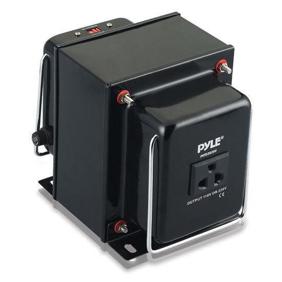 Pyle PVTC2020 Step Up & Down 2000W Voltage Converter Transfo