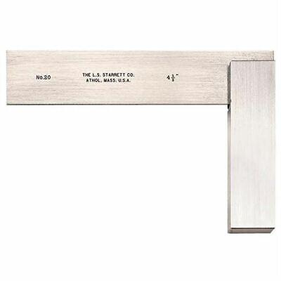 20-4 12 Starrett Master Precision Steel Square Blade 50132 -new- Usa