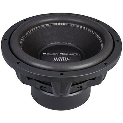 Power Acoustik Woofer - Power Acoustik BAMF-124 1750 RMS 12