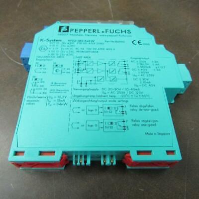Pepperlfuchs Kfd2-sr2-ex2.w K System Isolated Switch Amplifier Module
