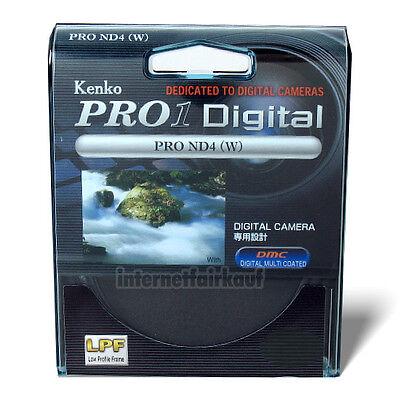 Kenko Pro1D Graufilter ND4 49mm, 52mm, 55mm, 62mm, 67mm 72mm online kaufen