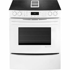 30'' Stove, half ceramic half grill, Convection [Jenn-Air]