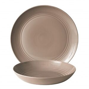 Gordon Ramsay Maze Taupe by Royal Doulton Collection 2