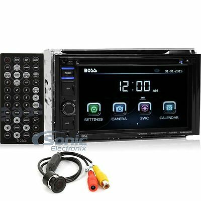 Boss BVB9364RC Double DIN Touchscreen Bluetooth DVD Car Stereo + Backup Camera