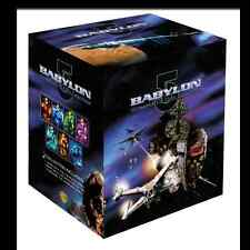 Babylon 5 Complete Series Season 1 2 3 4 5 + Movies + Crusade DVD Boxed Set NEW!