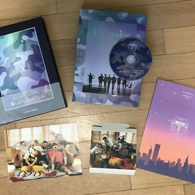 BTS Now 3 in Chicago Dreaming Days DVD Set Kpop Rare