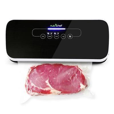 Nutri-Chef Automatic Food Vacuum Sealer - Electric Air Sealing Preserver System Seal Automatic Vacuum