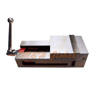 6 Super-lock Precision Cnc Vise 0.0004 For Nccnc Milling New Free Shipping