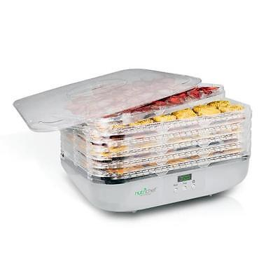NutriChef PKFD16 Small Countertop Appliance One Size White