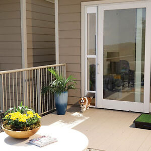 PetSafe Freedom Aluminum Patio Panel Sliding Glass Pet Door *NEW