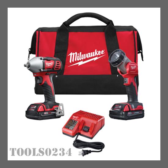 Milwaukee Tools 2693-22 M18™ Cordless LITHIUM-ION 2-Tool C