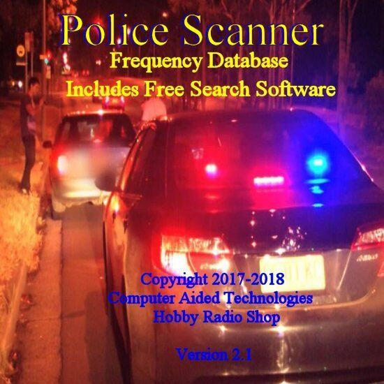 Mr.Scanner  Frequency Database CD Police-Fire-EMS-Businesses
