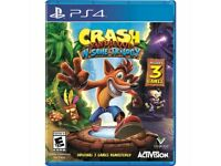 Crash Bandicoot N.Sane Trilogy 2016 brand new