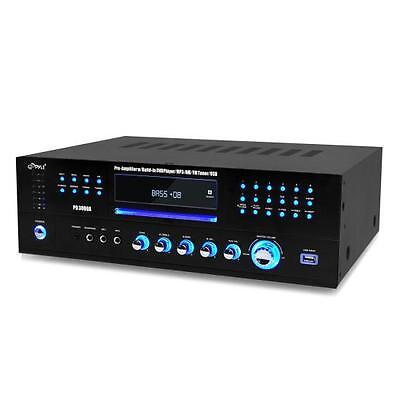 New Pyle PD3000A 3000 Watt  AM-FM Receiver w/ Built-In DVD/MP3/USB