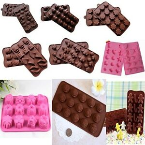 Chocolate-Cake-Cookie-Muffin-Jelly-Baking-Bakeware-Mould-Mold-j