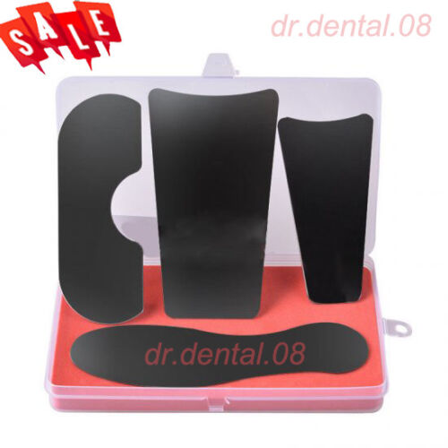 US 4pcs/pack Dental Intra-Oral Orthodontic Photographic Mirror Reflecter SS