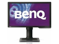 BenQ XL2410T 24 inch LED 3D Gaming Monitor. 1080p HD. Great condition