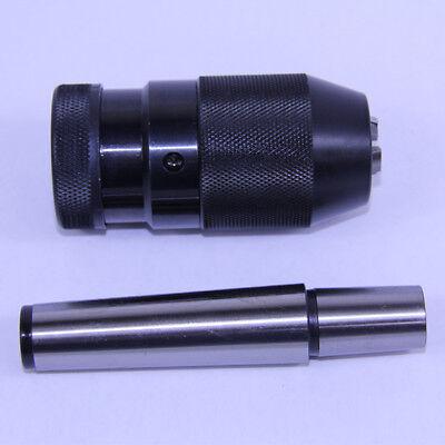 132-12 6jt Pro-series Keyless Drill Chuck Jt6-1mt Taper Arbor Mt1 Cnc