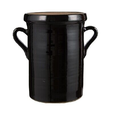 Black Pot With Handle Campagnard by Ib Laursen