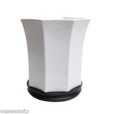 Black White Ceramic Bathroom Tumbler Bath Decor
