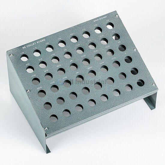 All Industrial 41062 | R8 Collet Rack With 48 Slots for Bridgeport