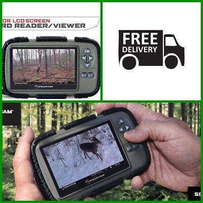 ฺBEST PRICE ! Stealth Cam SD Card Reader and Viewer With 4.3 LCD Screen