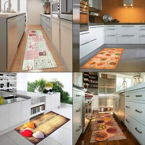 W535 stuoie cucina disegni colorati guide tappeti passatoia cucina 4 misure ebay - Tappeti cucina ebay ...